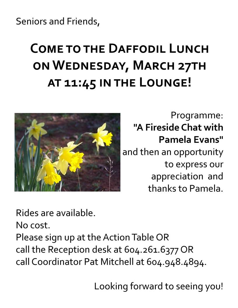 Daffodil Lunch