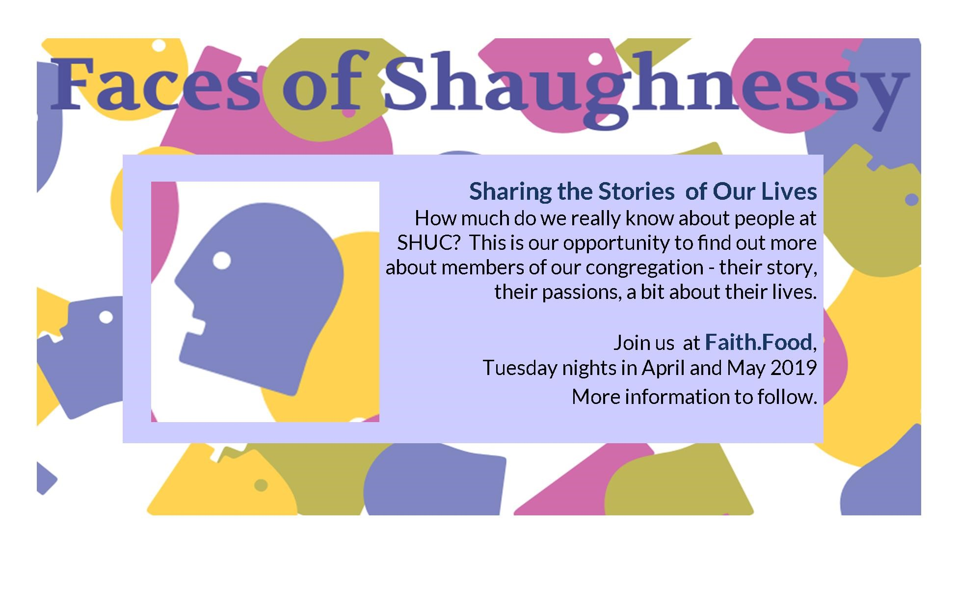 Faces Of Shaughnessy